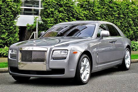 roll royce grey rolls royce 2010 ghost 4 door sedan london motorcars