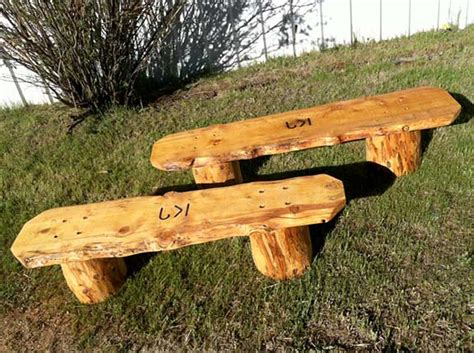 how to build log bench how find best ranch working job and make make log benches