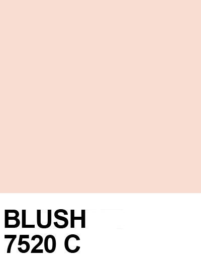 what color is blush pastello pantone 10 scenario