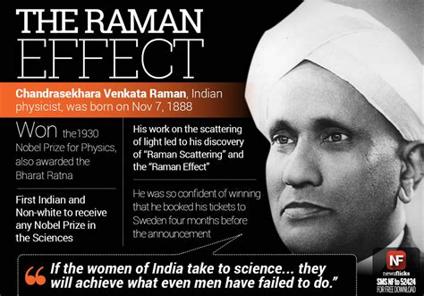 Newsflicks On Quot The Scientist The Raman