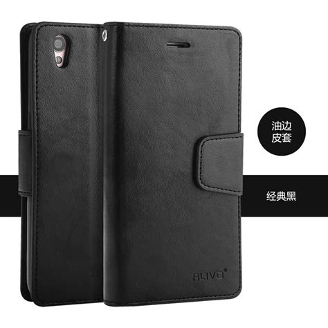 Oppo A37 Neo 9 Flip Leather Cover Wallet Hp Dompet Kulit Hp alivo oppo a37 aka neo 9 card slot flip pu leather cover casing 11street malaysia cases