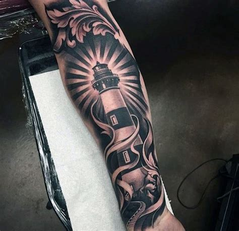 resultado de imagen para lighthouse tattoo tattos