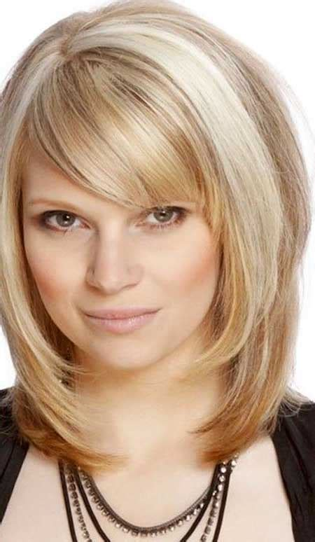 Pictures Of Medium Hairstyles With Bangs by 15 Pics Of Medium Length Hairstyles With Bangs And Layers