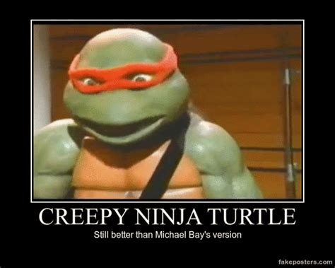 Teenage Mutant Ninja Turtles Meme - creepy ninja turtle teenage mutant ninja turtles know