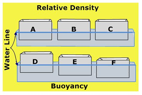 boat definition science science project relative density vancleave s science fun