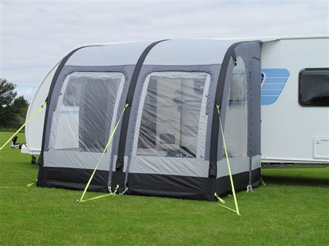 used caravan porch awnings ka rally air 260 inflatable caravan porch awning used