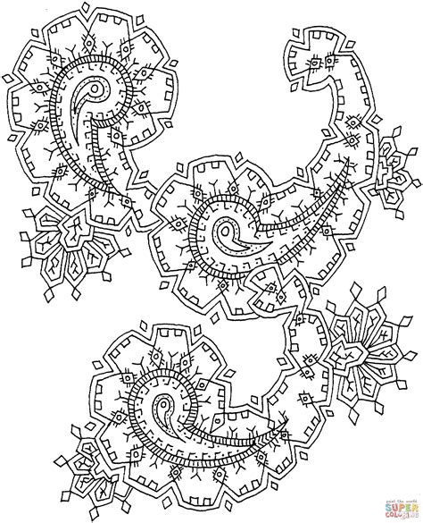 paisley coloring pages pdf paisley coloring page coloring home