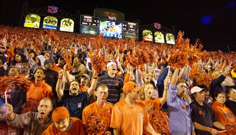 auburn football student section the abc s of auburn university