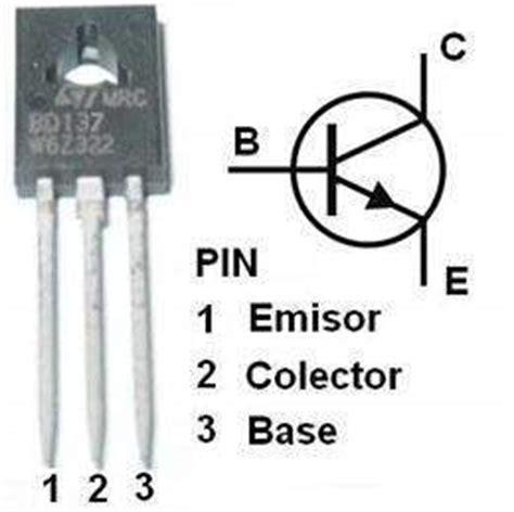 transistor npn que es transistor bd137 ecured