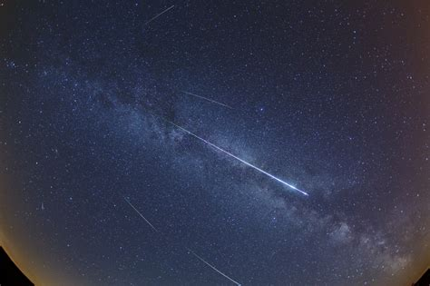 Next Perseid Meteor Shower by Apod 2012 August 14 Perseid Meteors And The Way