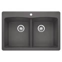Blanco Undermount Kitchen Sink Blanco 401406 Drop In Or Undermount Silgranit Kitchen Sink Lowe S Canada