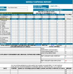Open Office Expense Report Template doc 800600 microsoft office expense report template