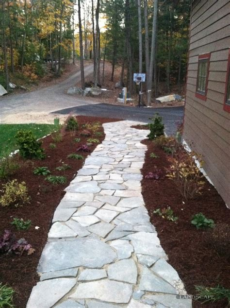 Design Ideas For Flagstone Walkways Flagstone Walkway Pathways Pinterest Flagstone Walkway Flagstone And Walkways