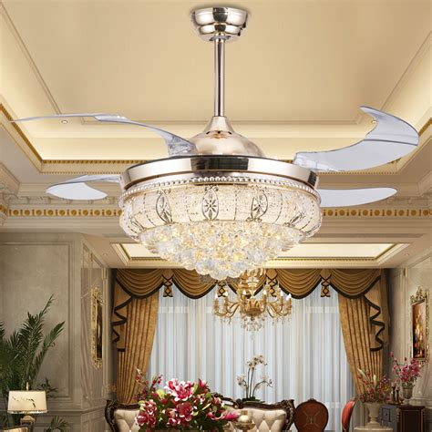 Ceiling With Chandelier Popular Ceiling Fan Chandelier Buy Cheap Ceiling