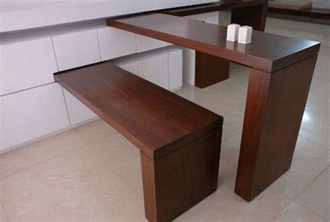 Dining Table Designs For Small Spaces Space Saving On Pinterest Space Saving Furniture Furniture And Small Kitchens