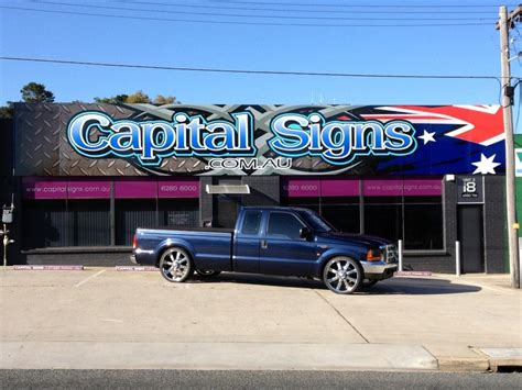 boat shop fyshwick capital signs in fyshwick act signwriting truelocal