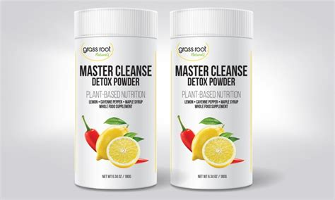 Master Cleanse Detox by 67 On Master Cleanse Detox Powder Livingsocial Shop