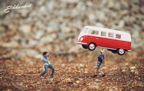 Wedding Miniature by Wedding Photographer Turns Couples Into Miniature