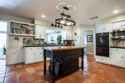 Saltillo Tiles used as backsplash   House: Kitchens