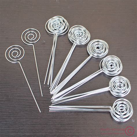 photo clips wire lot 50pcs diy ring loop circle shape craft wire picture