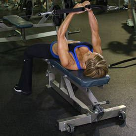 flat bench cable flye flat bench cable flyes exercise guide and video