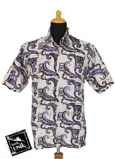 Baju Putih Batik baju batik sarimbit blus motif batik sogan jengger putih sarimbit blus murah batikunik