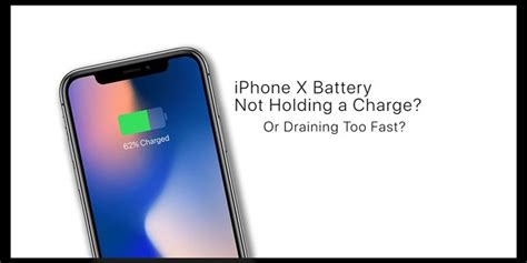iphone xs xr x battery not holding a charge draining fast appletoolbox