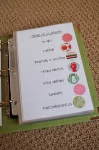 how to put together a recipe book page templates good