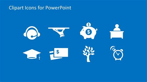 Modern Clipart Icons For Powerpoint Slidemodel Clipart For Powerpoint Free