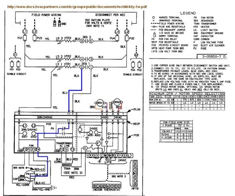 air handler wiring diagram free wiring diagrams