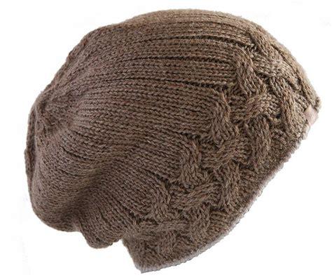 cable knit hats alpaca unisex cable knit hat