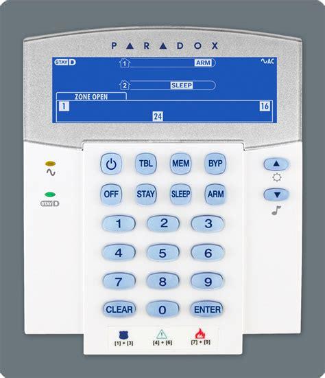 paradox alarm systems paradox mg6250 paradox k37irf