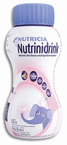 Nutricia Nutrinidrink Stowberry 200ml nutrinidrink dosage information mims indonesia