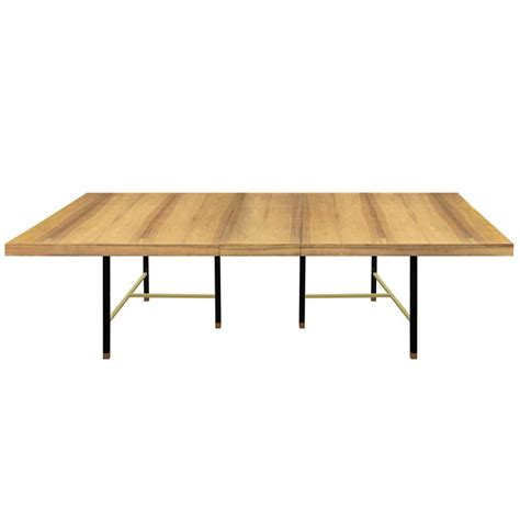 Bleached Dining Table Dining Table In Bleached Rosewood By Harvey Probber At 1stdibs