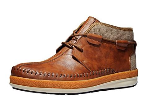 comfortable mens chukka boots serene black friday mens comfortable leather lace up
