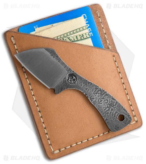 suwannee river newt fixed blade knife w leather wallet