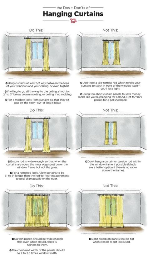 tips for hanging curtains 25 best curtain ideas on pinterest window curtains