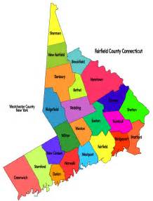Is In What County Fairfield County Map Greenwich Ct Real Estate Elwell