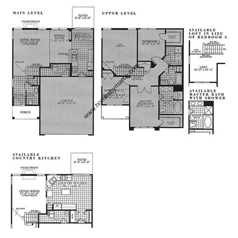 heatherstone house plan butterfield model in the heatherstone subdivision in