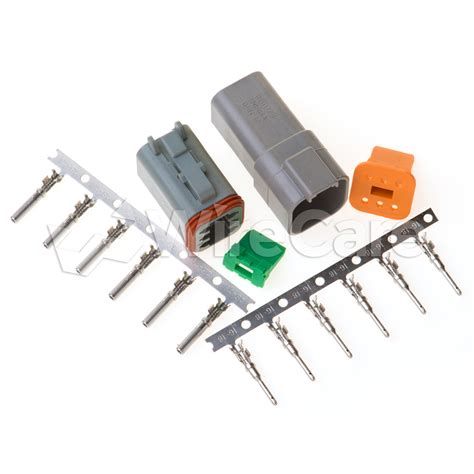 connector kit 6 pin connector kit wirecare