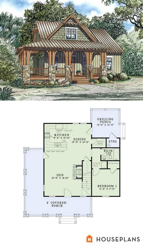 guest house plan modern studio 61custom contemporary home