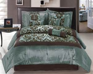 aqua blue and brown comforter sets 61 best turquoise and brown bedding images on pinterest