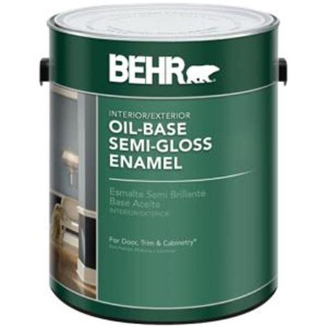 best exterior based paint behr 1 gal white semi gloss based interior exterior
