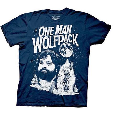 T Shirt Hangovers hangover shirt one wolf pack
