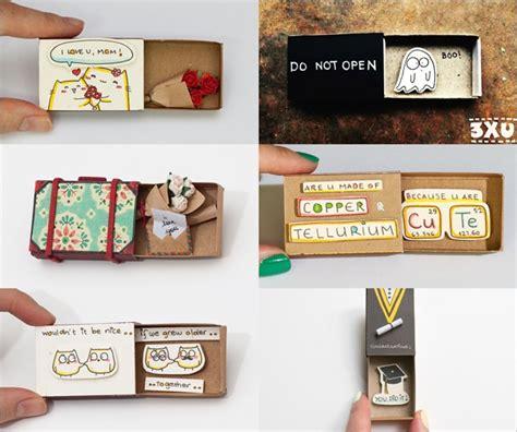 cara membuat kartu ucapan yang sederhana sederhana tapi menarik kotak korek api ini bakal bikin