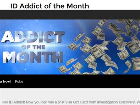 Discovery Investigation Giveaway - investigation discovery addict of the month giveaway sweepstakes