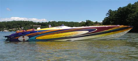 cigarette gladiator boat for sale lip ship performance cigarette racing team