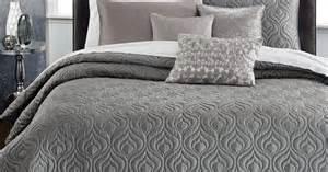 King Size Bedroom Comforter Sets inc international concepts rizzoli gunmetal coverlet