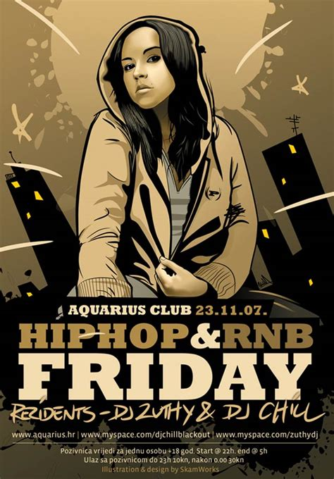 template rnb flyer 30 eye catching flyer designs for inspiration