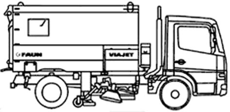 sweeper truck coloring page street sweeper coloring pages coloring pages